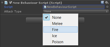 Is it possible to create radio buttons in the unity