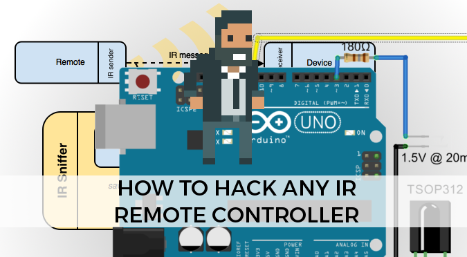How To Hack Any Ir Remote Controller Alan Zucconi