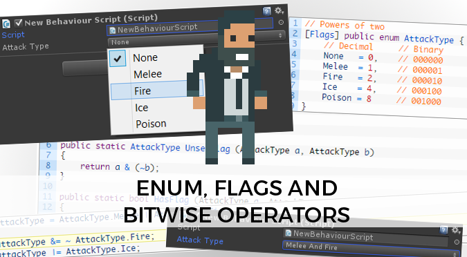 Enum, Flags and bitwise operators - Alan Zucconi