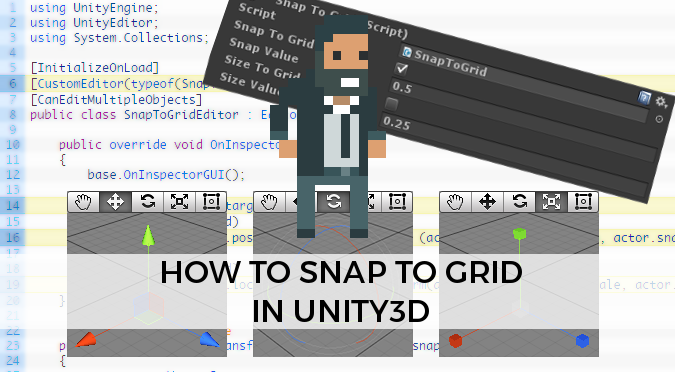 How to Snap to Grid in Unity3D - Alan Zucconi
