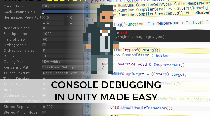 Console debugging in Unity made easy - Alan Zucconi