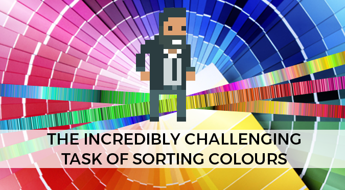The incredibly challenging task of sorting colours - Alan