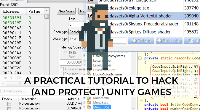 A practical tutorial to hack & protect Unity games - Alan