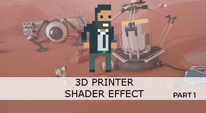 3D Printer Shader Effect - Part 1 - Alan Zucconi