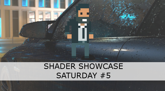 Shader Showcase Saturday #5: Dripping Rain - Alan Zucconi